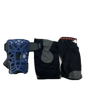 Don Joy Reaction Web Knee Brace With Compression Sleeve XL XXL Blue