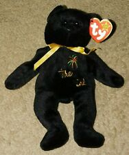 1999 RETIRED TY BEANIE BABY THE END THE BEAR - P.E. PELLETS (Tags Attached)