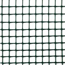 Rete plastica H50 Verde quadra Protezione Cancello Recinzione Rotolo 5MT lineari