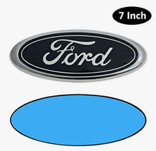 FORD 7 Inch Front Grille Tailgate Emblem, 3D Oval 3M Double Side Adhesive