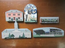 5  1995 Hometowne Collectibles PENN STATE Wooden Shelf Sitters Buildings Stadium