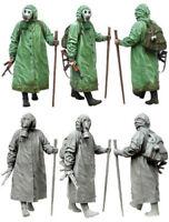 1/35 Resin Figure Model Kit Stalker Biochemical Soldier Gas Mask & Gun Unpainted