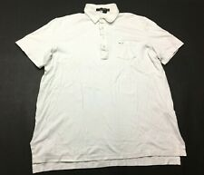 RLX Ralph Lauren Ryder Cup 2012 Mens White Short Sleeve Polo Shirt Size Large