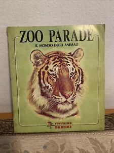 Album figurine Panini ZOO PARADE  Il mondo degli animali 1982 completo