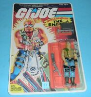 *RECARDED* 1985 GI Joe Buzzer v1 Dreadnok Complete Sealed *CUSTOM File Card Back