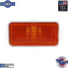 69 for GM Fender Side Amber Marker Light / Lamp Lens Housing Made in USA EACH