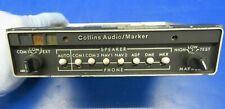 Collins AMR-350 Audio Marker Panel 14V 622-2087-011 (0320-403)
