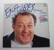 """ENFOIRES """"Excusez nous - les blagues de Coluche"""" Vinyle"""