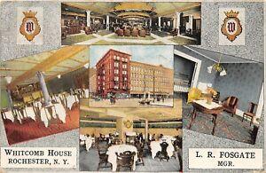 H71/ Rochester New York Postcard c1910 Whitcomb House 5View Fosgate 207