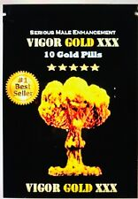 20 Pills VIGOR GOLD new look! Energy Male Herbal pills Para Hombres EXPL testost