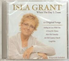 Isla Grant  When the Day Is Done CD 12 Original Songs