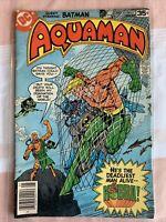 AQUAMAN # 61 - BATMAN - DC COMICS  (1978) - DON NEWTON art Kobra
