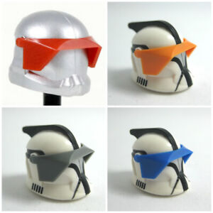 Clone Army Customs P1 VISOR for Minifigures -Star Wars -Pick Color! New