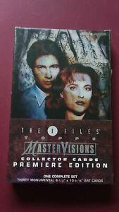 1995 The X-Files Master Visions Factory Sealed Wax Box Trading Card Set Skybox
