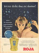 """Publicité Advertising 1959  ROJA vaporisateur """"Micromatic"""" Roja ricinée"""
