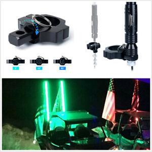 """1X Black Mount Bracket For UTV ATV LED Whip Light Flag Bar 1.75"""" to 2"""" Roll Bars"""