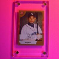 2005 Bowman Gold Signature Ichiro Suzuki #95 Mariners