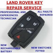 Land Rover Freelander 2 Remote Key Fob Repair / New Battery Fix Service