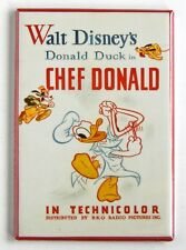 Chef Donald Fridge Magnet (2 x 3 inches) movie poster donald duck
