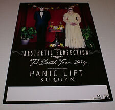 """Aesthetic Perfection 'Til Death Tour 2014 Poster RARE1 11"""" X 17"""" Out Of Print"""