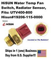 HiSUN Water Temp Fan Switch, Radiator Sensor, UTV400-800, # 19206-115-0000