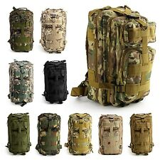 30L Military Tactical Backpack Waterproof Army Rucksacks Camping Hiking Fishing