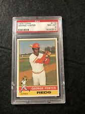 1976 TOPPS GEORGE FOSTER #179 PSA NM-MT 8 NICE!!!