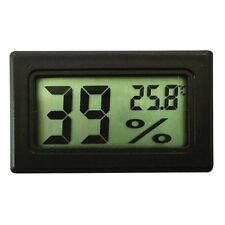 2 PCS Digital LCD Indoor Temperature Humidity Meter Thermometer Hygrometer
