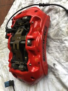Mercedes Benz C63s W205 AMG 390mm BREMBO Front 6 Piston Brake Caliper