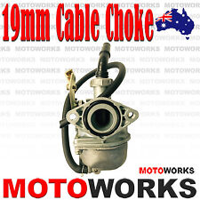 PZ 19mm Cable Choke Carburetor Carby 50cc 110CC 125cc ATV QUAD Bike Gokart Buggy