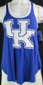 University of Kentucky Wildcats NCAA G-III 4her Women's Blue Racerback Tank Top