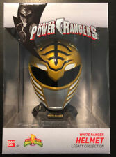 MIGHTY MORPHIN POWER RANGERS LEGACY WHITE RANGER HELMET MINI 1:4 TOMMY MMPR 2018