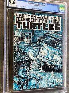 Teenage Mutant Ninja Turtles #3 CGC 9.6 White Pages First Print TMNT
