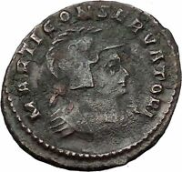 CONSTANTINE I the GREAT 310AD Trier RARE Mars Reverse Ancient Roman Coin i54402