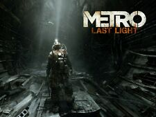 POSTER METRO 2033 REDUX 2034 LAST NIGHT ARTYOM MOSCA HORROR VIDEOGAME PC PS4 #11