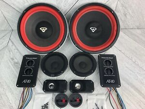 "Cerwin Vega! AT-10 - Complete 2 Speaker Set - 10"" Woofers DT3 Tweeters Crossover"