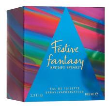 Britney Spears Festive Fantasy fragrance 100ml (3.3oz) - BNIB & SEALED - RARE