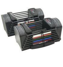 **IN HAND** Powerblock Sport Block 24 Adjustable Dumbbell Set 24lb Per Hand NEW!