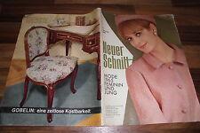 NEUER SCHNITT 1 / 1965 -- ZÜNFTIGE DIRNDL/Kleider im JUMPERSTIL/für Vollschlanke