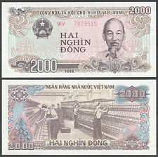 VIETNAM - 2000 Dong 1988 Banknote Note - P 107b P107b (UNC)