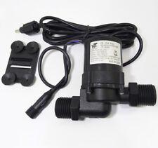 DC 12V 24V Hot Water Booster Pump Brushless Silent Solar Water Pump 4.5M 1000L/H