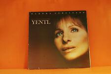 YENTL - SOUNDTRACK (BARBRA STREISAND) COLUMBIA 1983 - VG VINYL LP RECORD -Q