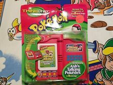 RARE 2000 Thinkchip Pokemon Electronic Ash's Talking Pokedex Nintendo Toy Figure