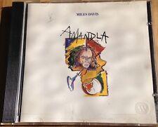 "MILES DAVIS ""AMANDLA"" WARNER BROS JAZZ 1989 CD ALBUM 7599-25873-2"
