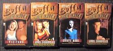 1990s Buffy The Vampire Slayer Pocket Paperback Lot of 4 Vf/Vf+ Visators Angel