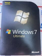 Microsoft  Windows 7 Ultimate UPGRADE 32/64-Bit with product key
