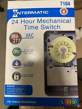 Intermatic T104 24-Hour Mechanical Time Switch