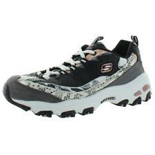 Skechers Womens D'Lites Runway Ready B/W Running Shoes 6.5 Wide (C,D,W) 7273
