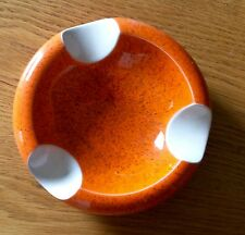 Cendrier - Vide-Poches - Orange - Années 50_60 - Vintage