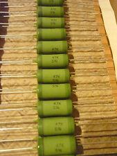 5 x Resistencia Vishay MOX 47KOhm 4Watt 5% -55 200° C Óxido de metal 47K 4W